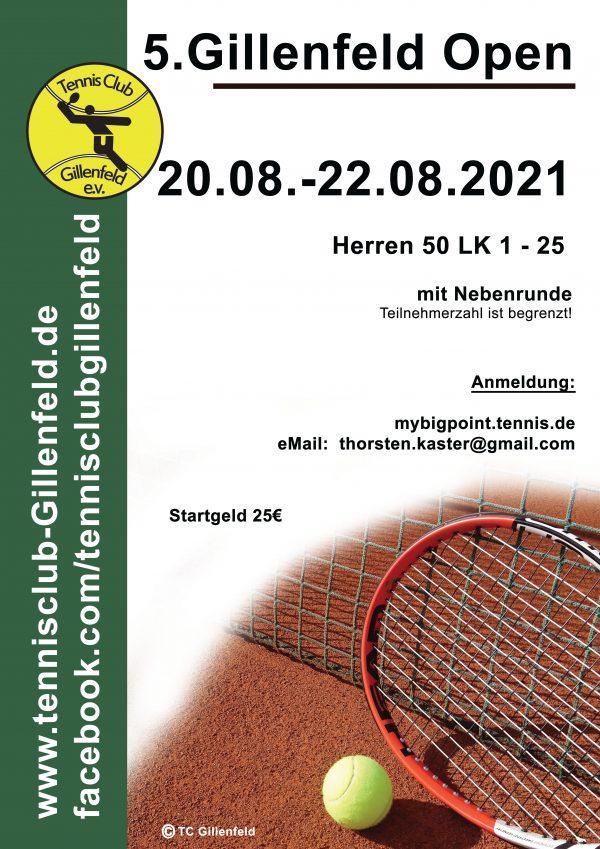 Gillenfeld Open 2021 Herren50